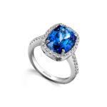 Tanzanite-International-Cushion-Tanzanite-Surrounded-by-Micro-Set-Diamonds