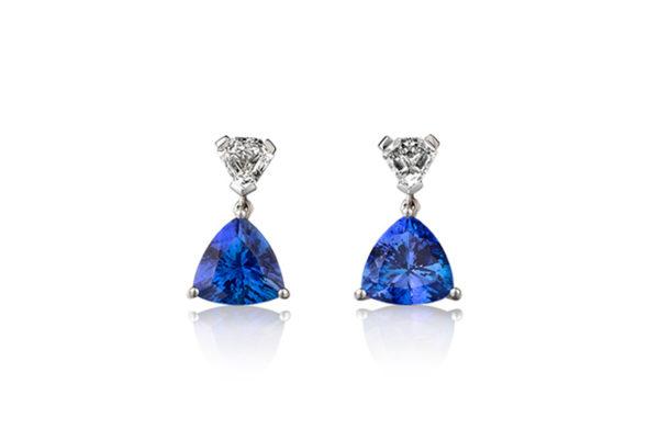 Tanzanite-International-Trilliant-Drop-Earrings