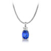 Tanzanite-International-Cushion-Solitaire-Pendant-with-Criss-Cut-Diamond-Below-Bale
