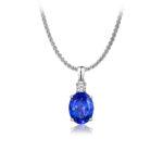 Tanzanite-International-Oval-Cut-Tanzanite-with-a-Princess-Cut-Diamond