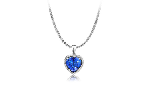 Tanzanite-International-Heart-Shape-Tanzanite-Pendant