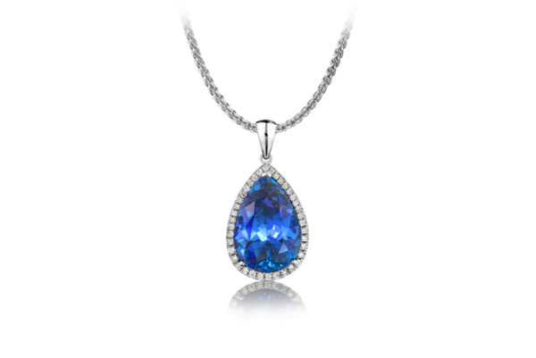 Tanzanite-International-Pear-shaped-Tanzanite-pendant