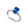Tanzanite-International-Emerald-Solitaire
