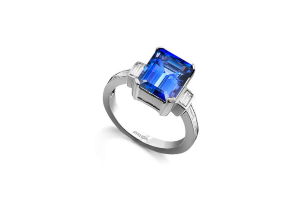 Tanzanite-International-Emerald-Tanzanite-Trilogy-Ring