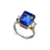 Tanzanite-International-Emerald-Tanzanite-Trilogy-Ring